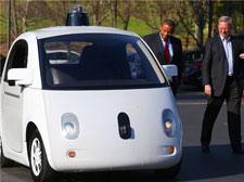 谷歌无人驾驶汽车技术被认可!