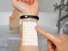 可穿戴设备的终极形态,人体皮肤即显示屏