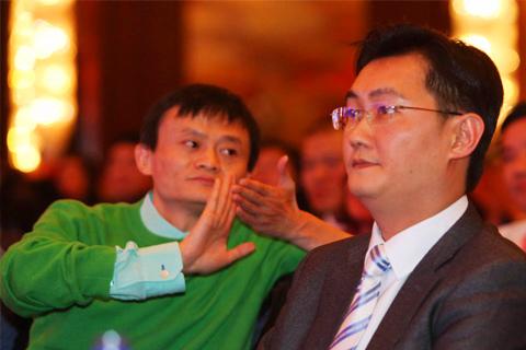 马化腾欠银行550亿,马云向银行借50亿美元,越有