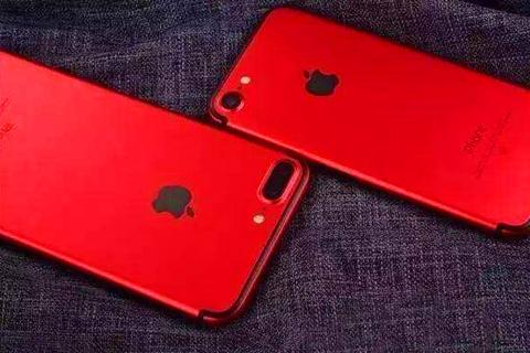 苹果发布红色iPhone7,四点因素决定它不能大卖