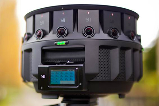 Google又有新360相机了,与小蚁合作推YI Halo!