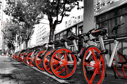 摩拜英国投放单车数量是ofo投放的