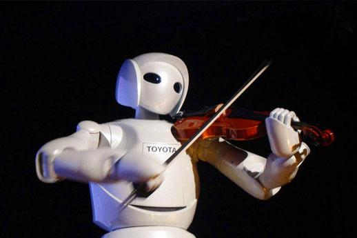 """和平年代,机器人是怎样""""拯救地"""