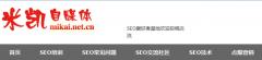 分享米凯SEO网站排名——SEO优化的黑与白