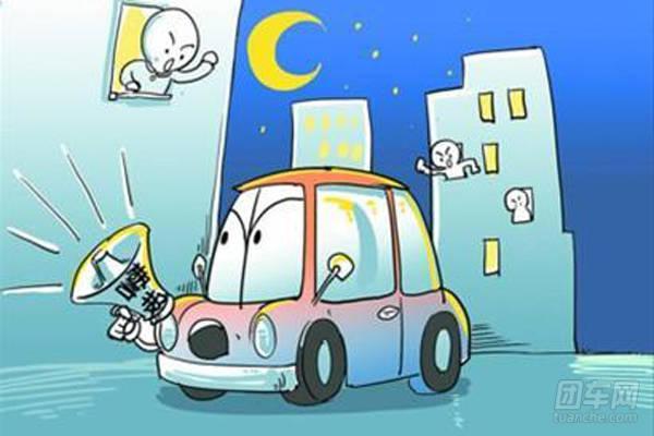 小区内常见不文明驾驶行为看您最讨厌哪个呢