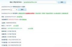 谷歌注册多个与Google Play和 China相关