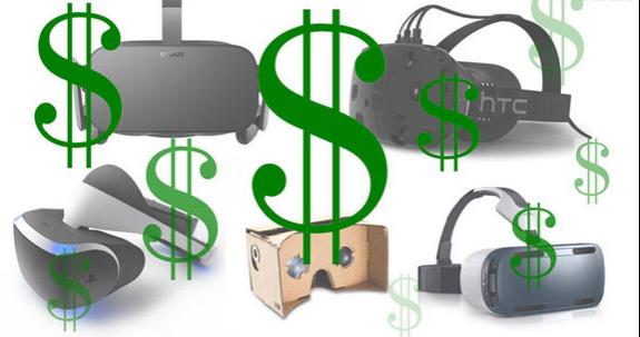 一月七笔千万美元投资!国内VR行业在刮什么风?