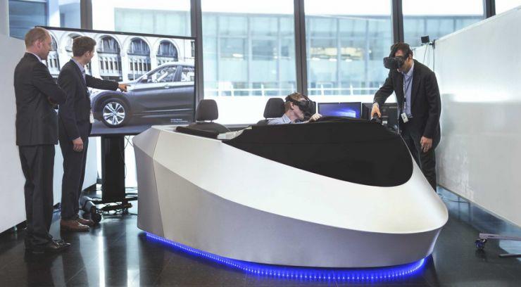 VR+汽车设计,宝马与HTC Vive擦出的火苗