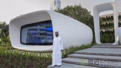 迪拜3D打印办公楼 3D打印房子离我们还有多远?