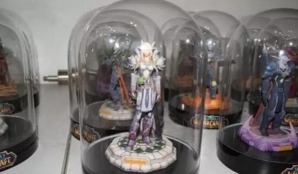 魔兽世界十年情怀 记梦馆来一套3D打印魔兽手办