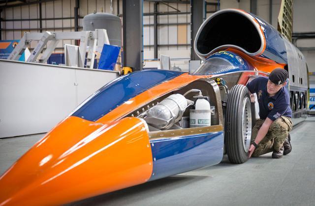 超音速汽车时速1287公里将开跑:比飞机还快的汽车?