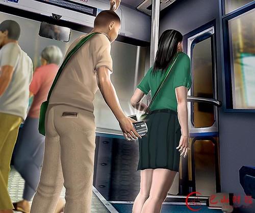 女子坐快车被偷拍:快车睡着被司机偷拍裙底