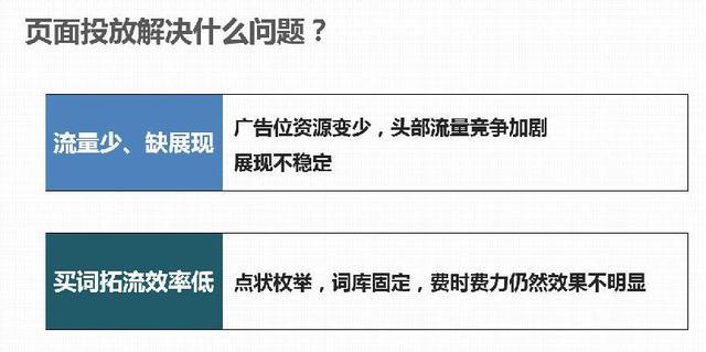 百度推出页面投放竞价,让seo站长从此下课!