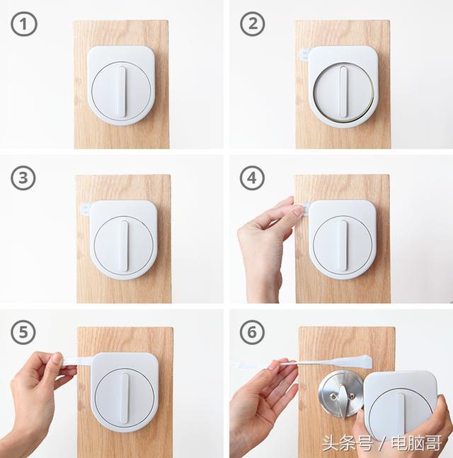 出门没带钥匙不用怕,这个智能门锁可以解决你的烦恼