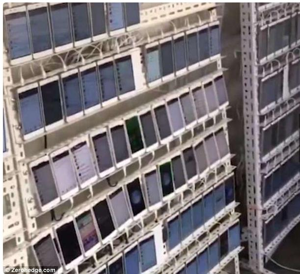 """你见过有1万台手机的房间吗?网络上还存在这样一群""""机器人""""!"""