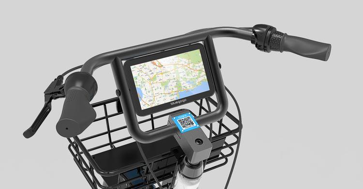 """共享单车""""挣钱""""新办法,在自行车上加块平板卖广告"""