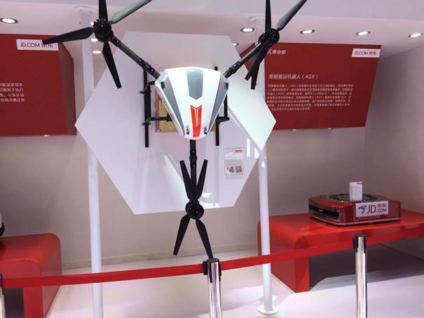 京东无人机将在6·18正式投入运营
