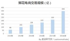 2017年第一季度鲜花电商行业分析报告