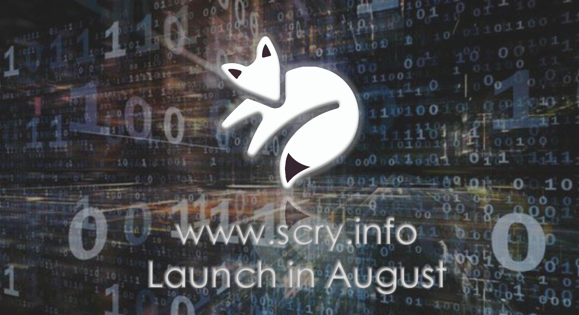 引领区块链真实数据应用级开源协议Scry.info登陆市场