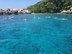 潜泳圣地,最美不过斯米兰群岛