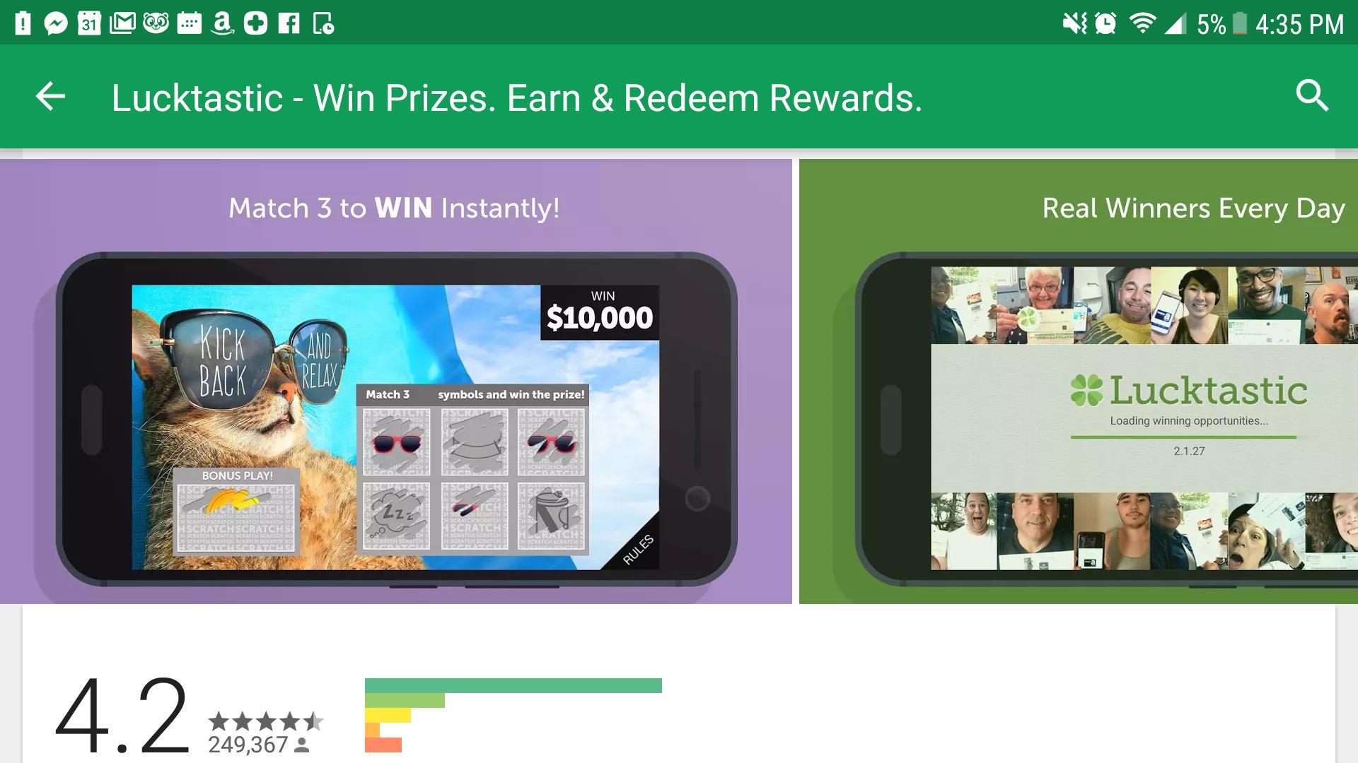 谷歌应用商店优秀ASO屏幕截图示例