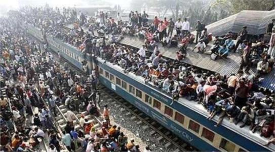 看印度人坐火车的视频