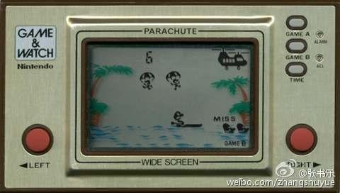 30年前的Game&Watch,比苹果手表更具创新精神