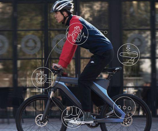 百度智能自行车:不用充电