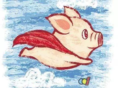 风口太大,都忘了自己是猪!
