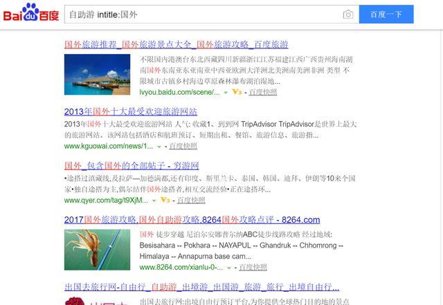 谁不会用搜索引擎呢?我的搜索引擎就和你的搜索引擎不一样