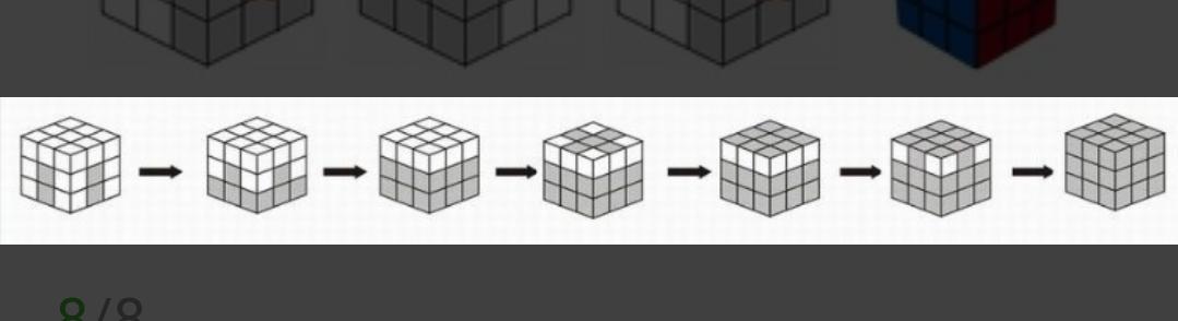三阶魔方公式,教你起步解开三阶魔方!