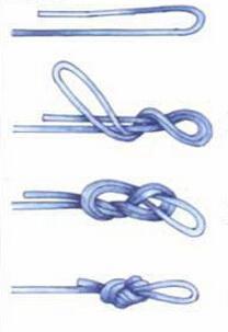 铲尾结绑钩法图_鱼钩怎么绑在鱼线上?鱼钩的常见绑法分享,一看就会-闻蜂网