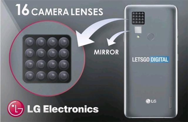 四摄五摄算什么?LG:对不起,我直接上16颗摄像头