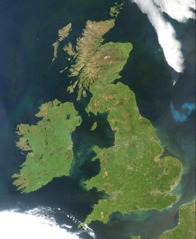 大英帝国、不列颠、英国、大不列颠、英格兰有什么区别?