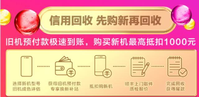 双十二苏宁把旧手机玩出新花样,凭信用回收!
