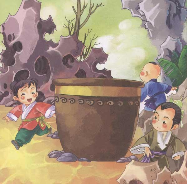 司马光砸缸的故事流传千年,可你们知道被救的孩子是谁吗?