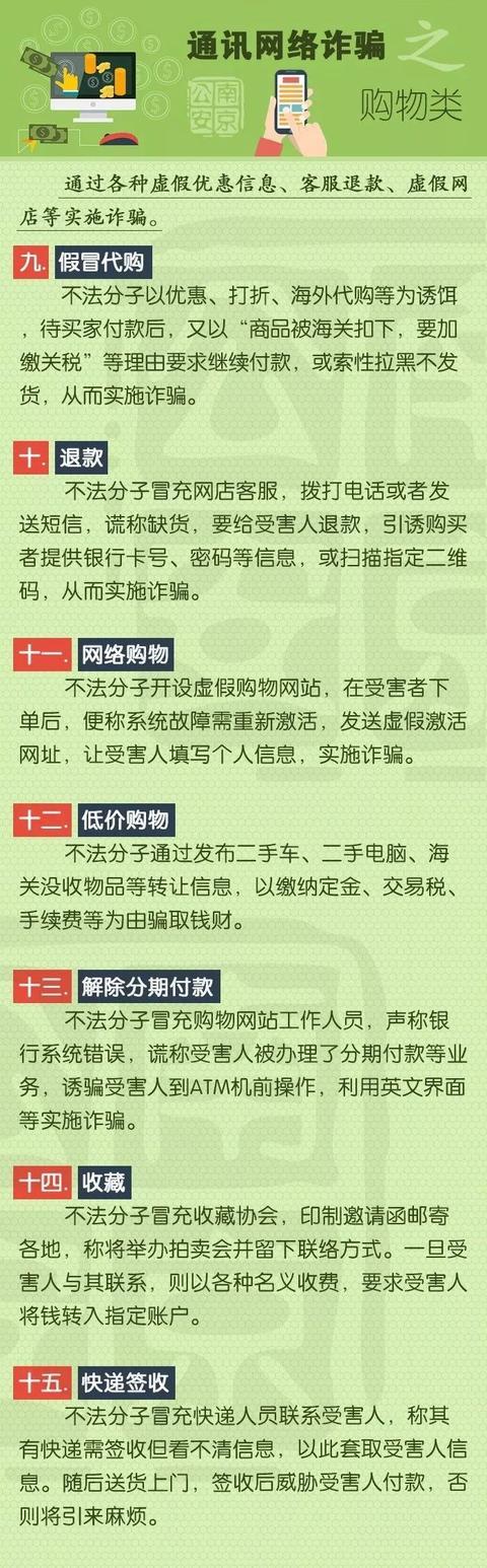快看!公安部披露7个职业电信诈骗地区!(附58种诈骗手法)