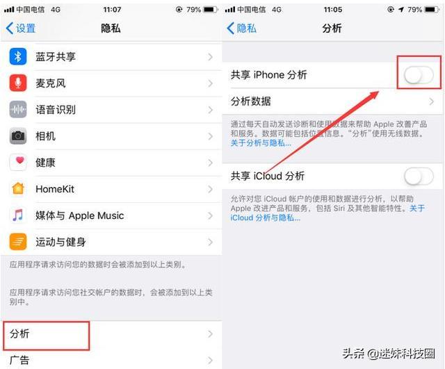"iPhone手机耗电快、内存不够用,关闭这5个功能秒变""新机""!"