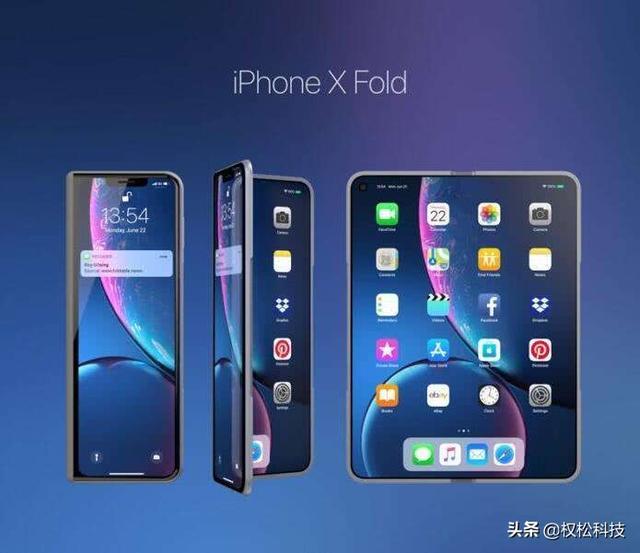 苹果可折叠新机曝光,2020面市继续保留刘海屏设计!