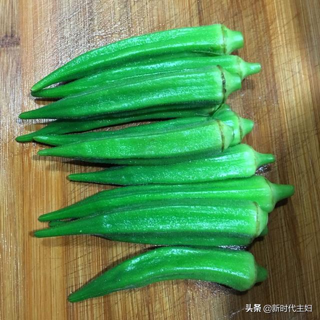 秋葵这样做简单又好吃,原汁原味,非常下饭!