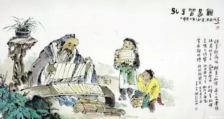 """孔子""""韦编三绝""""个人见解"""