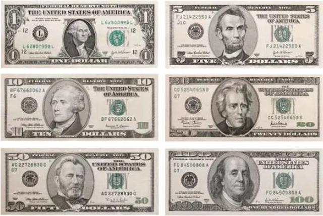美国人很少说money, 而是用这些词说钱