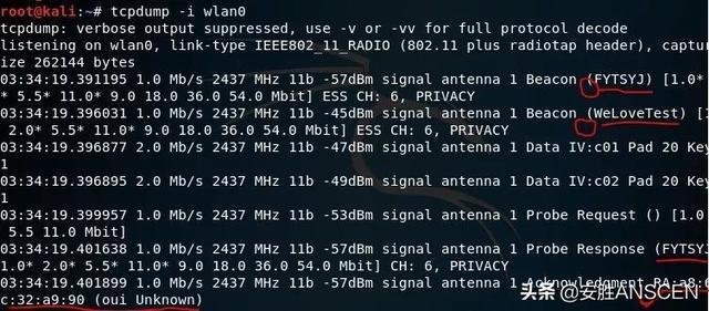 干货来了!WiFi探针获取无线网络信息技术详解