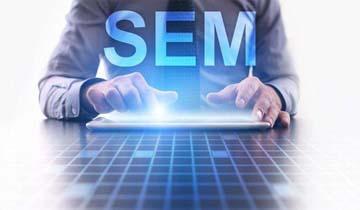 网络营销推广见效快的方法就是SEM运营,当天开广告就会有询盘