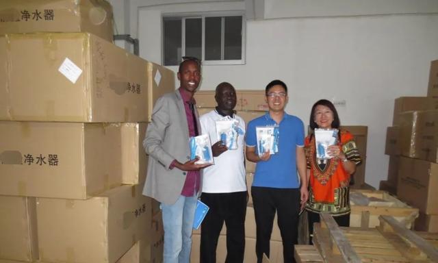 阿里巴巴第一批卖家:中国净水器解救非洲难民