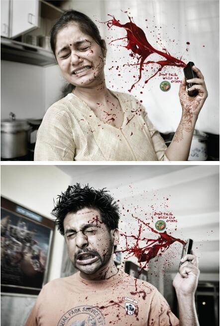13则震撼人心的公益广告