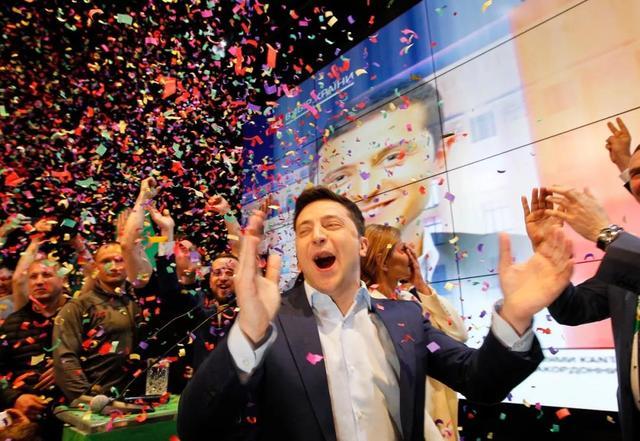 乌克兰大选:90%的灾难赢了!