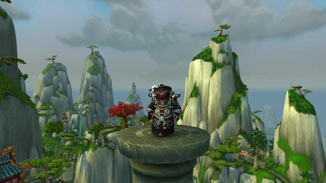 布甲幻化:这个熊猫人值得一战 影踪派风格的魔法师