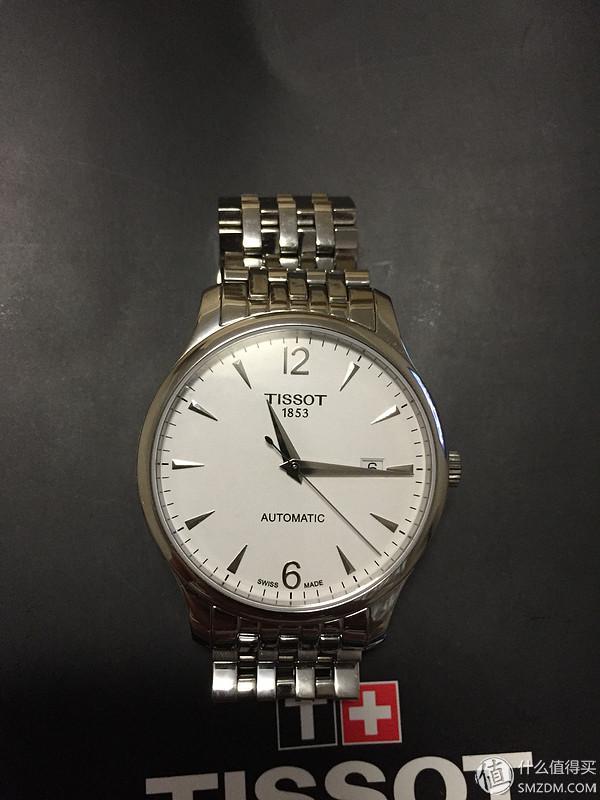 意外的周年的礼物:TISSOT 天梭 俊雅系列 男款机械腕表