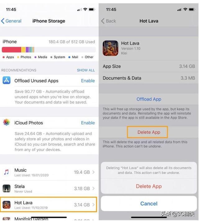 如何清除iPhone和iPad上的缓存